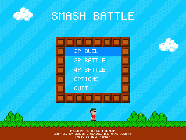 Smash Battle title screen